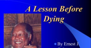 Analysis of 'A Lesson Before Dying', by Ernest J. Gaines