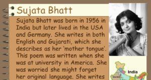 Sujata+Bhatt