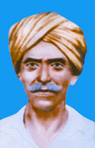 The tribal leader Komaram Bheem