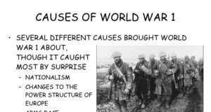 causes-of-world-war-I