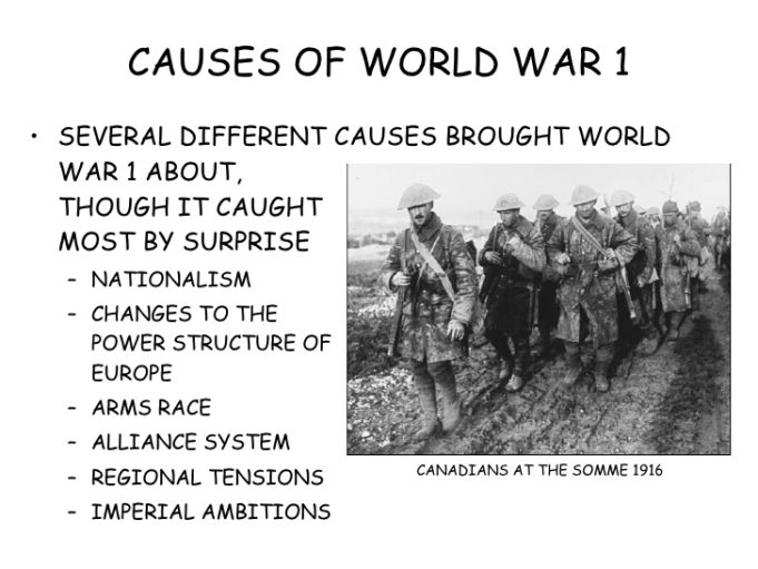 causes-of-world-war-I
