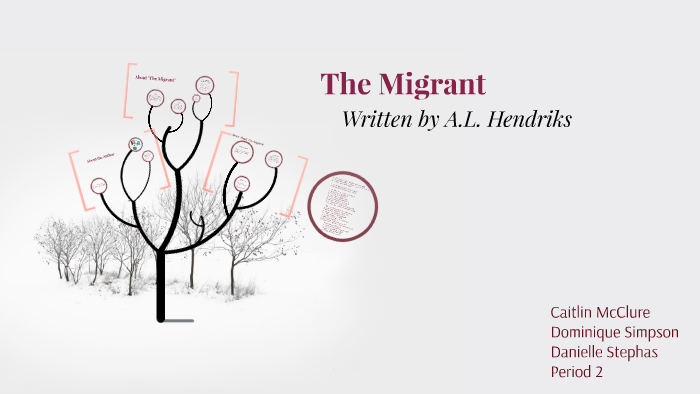 Analysis of 'The Migrant' by Arthur Lemière Hendriks
